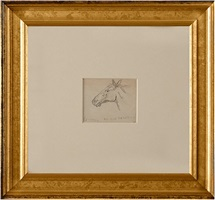 horse, an old favorite by edward hopper
