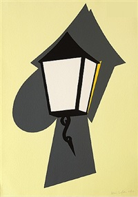 wall lamp by patrick caulfield