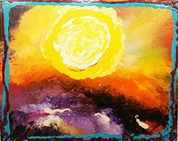 memoirs: yellow, orange and purple by jules olitski