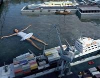 floating in harbour by julia fullerton-batten