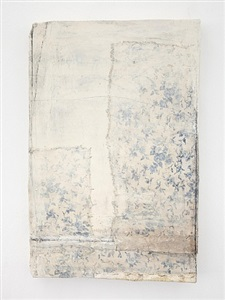 untitled (blue ivy painting) by lawrence carroll
