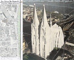 mein kölner dom, wrapped (project for cologne germany) by christo and jeanne-claude