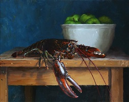 lobster (sold) by vincent giarrano