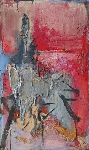 maitresse en rouge by bram bogart