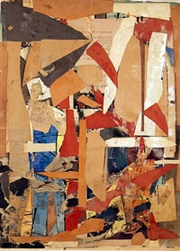 untitled (double-sided) by romare bearden
