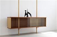 meuble suspendu by jean prouvé