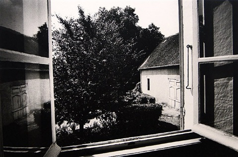 view from the laboratory, saint-loup-de-varennes, france by daido moriyama