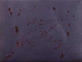 paesaggio lunare (viola) by giulio turcato