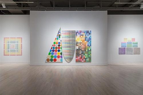 installation view, 2013, works by jennifer bartlett by jennifer bartlett