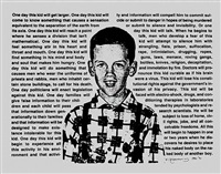 untitled (one day this kid...) by david wojnarowicz