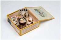 collection box with seashells by richard shaw