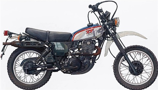 motorrad (yamaha xt 500) by rené wirths