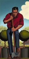 earth and spring by r. kenton nelson