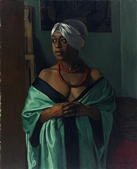 aïcha by félix edouard vallotton