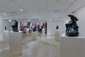 installation image by auguste rodin
