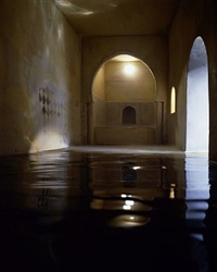 spanish bath (vertical) by james casebere