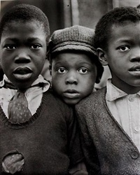 harlem boys by ruth bernhard