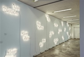 exhibition view: joseph kosuth, sprüth magers berlin