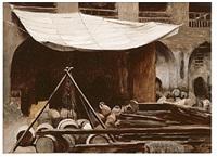 au cœur de caire, les souks by jean-léon gérôme