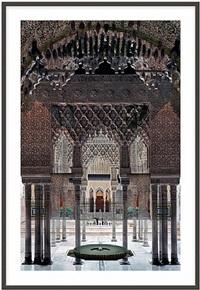 inner court, alhambra by roland fischer