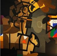 artist's city by dia azzawi