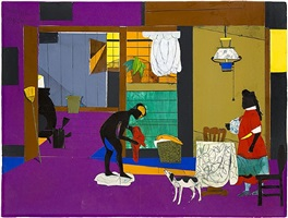 sunrise-the china lamp by romare bearden