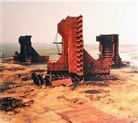 shipbreaking #27, with cutter, chittagong, bangladesh by edward burtynsky