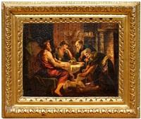 mars and venus and philemon and baucis by sir peter paul rubens