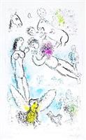 l'envolée magique by marc chagall