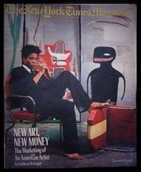 new york times magazine by jean-michel basquiat