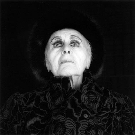 <i>louise nevelson</i>, 1986 / printed 1990 by robert mapplethorpe