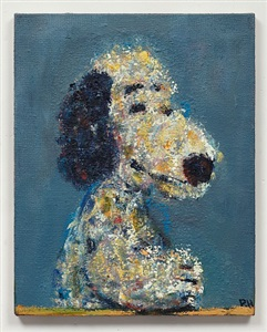 snoopy in blue (after titian) by paul housley