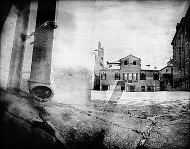 """pinhole 017/ campo dell'angelo raffaele, venezia, 4'10"""" by laura fiorio"""