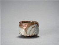 yohen shino teabowl by ken matsuzaki