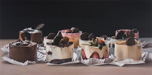 mousse cake by ben schonzeit