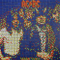 rubik acdc by invader