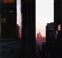 reflected dawn above madison by ben aronson