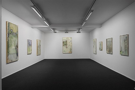 installationview, john david nielsen, bilde og maleri by john david nielsen