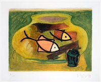 l'aquarium (the aquarium) by georges braque