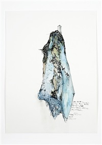 study for an untitled sculpture based on the concept of the