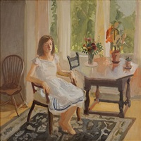 claire white by fairfield porter