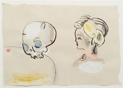 girl and scull by joel tomlin