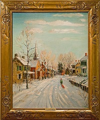 a bright winter morning by walter emerson baum