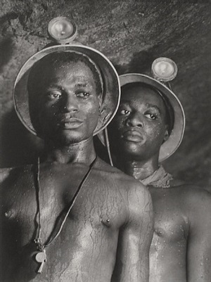 south african gold miners, kimberley mines, johannesburg by margaret bourke-white