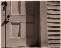church door, hornitos, california by edward weston