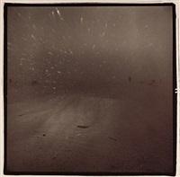 wind shield in dust storm by richard misrach