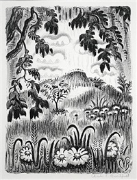 summer benediction by charles ephraim burchfield