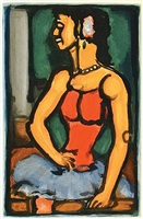 bittersweet by georges rouault