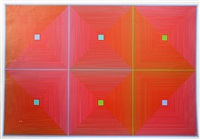 six squares 1 by richard anuszkiewicz