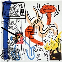 apocalypse vii by keith haring